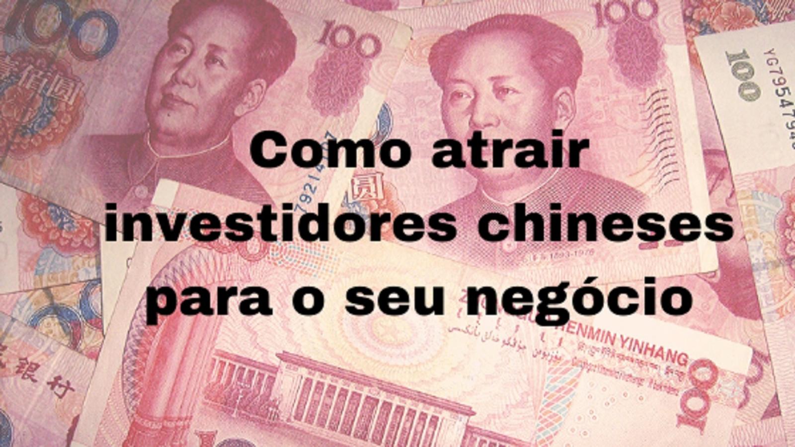 investimento chinês no Brasil